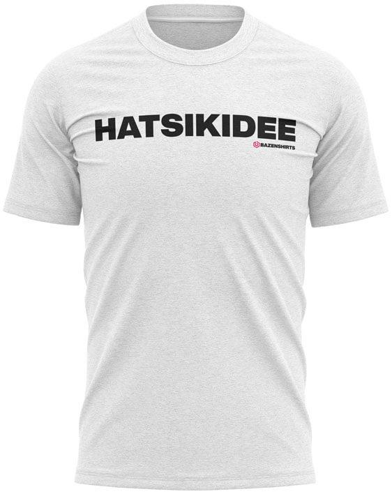 hatsikidee heren tshirt wit